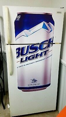 Busch Light Bud Beer flathead wall sticker 4' dorm room man cave refrigerator