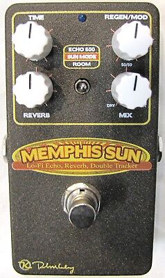 Used Keeley Memphis Sun Lo-Fi Reverb, Echo And Double-Tracker Effects Pedal  - $149.99