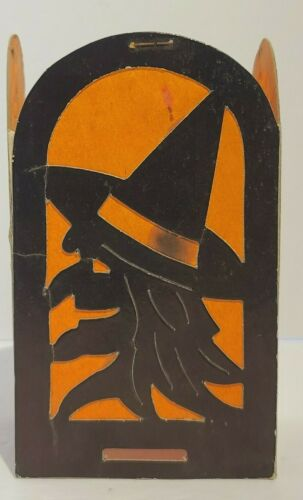 Antique Vintage  Halloween Paper Lanterns Die Cut Seasonal USA Beistle
