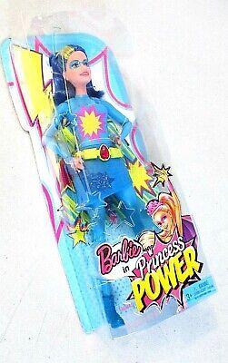 Barbie in princess POWER Aqua color Water Super Hero Doll Mattel 2015 []