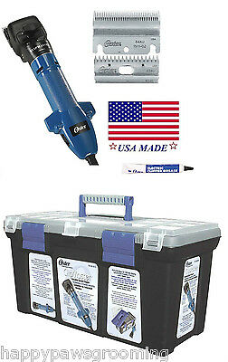 Oster Clipmaster Variable Speed Clipping Machine Set-bladeoilcase-sheepcattle