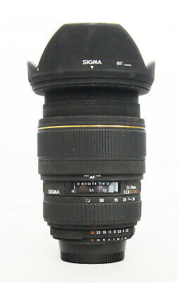 # Sigma EX 24-70mm f/2.8 DG Macro Lens For Nikon S/N 4059234