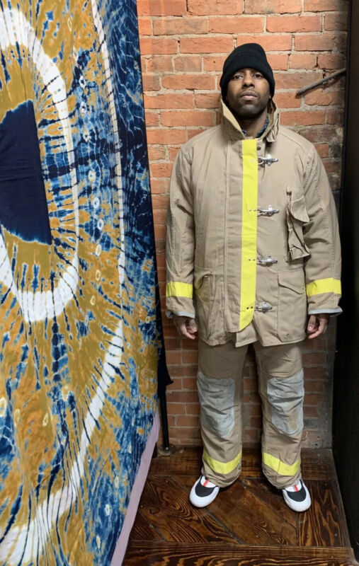 FYREPEL Firefighter Turnout Gear Bunker Padded Jacket And Pants