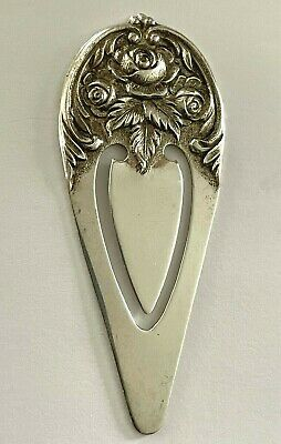 Margaret Rose By National Sterling Silver Olive Spoon Pierced Long 6 78 Custom