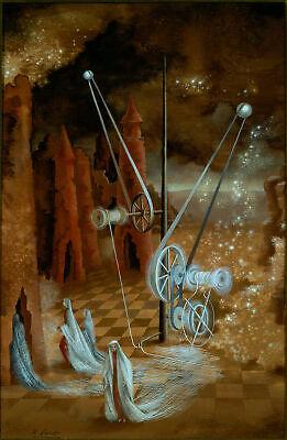 "Star Maker by Remedios Varo 14/""  Paper Print Repro"