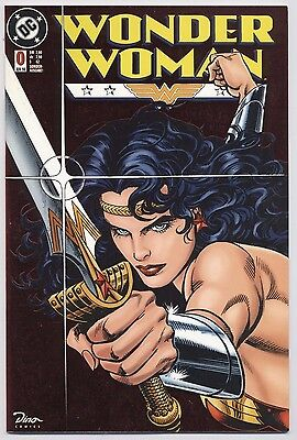 WONDER WOMAN # 0 METALLIC FOIL COVER (WUNDERGIRL) - DINO VERLAG 1998 - TOP