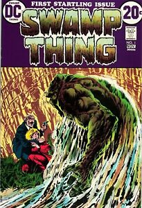 Complete Swamp Thing collection 1972 - 1990