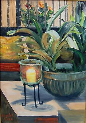 (Printable Wall Art Print Candle Still Life Home Decor Instant Download)