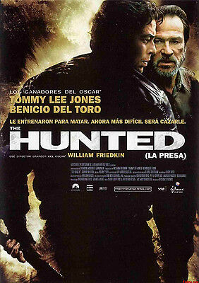 PELICULA DVD THE HUNTED: LA PRESA PRECINTADA
