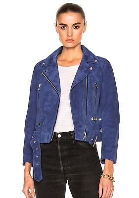 Acne Studios suede leather Mock jacket Sz 36 (US 4) RRP$1650