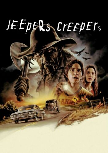 """Jeepers Creepers movie poster (c) -  11"""" x 17"""" inches - Horror"""
