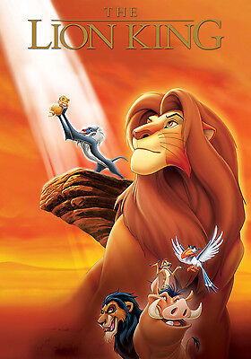 THE LION KING 11x17 MINI MOVIE POSTER COLLECTIBLE