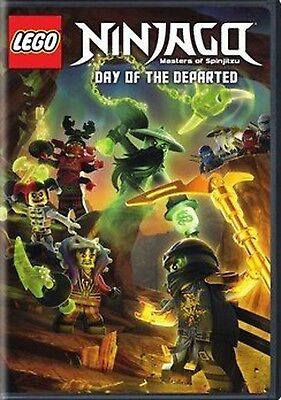 LEGO Ninjago: Masters of Spinjitzu - Day of the Departed (DVD, 2017) NEW