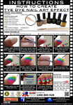 Gel Polish Nail Art Tutorial: How To Create Tye Dye Nail Art