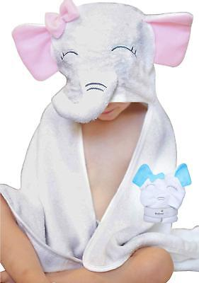 Premium Hooded Baby Towel by BabeeHive - Extra Plush Super Absorbent Extra Plush Hooded Towel