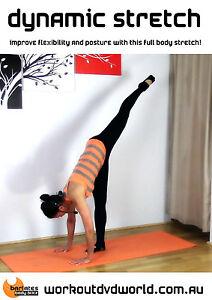 Yoga Stretching EXERCISE DVD - Barlates Body Blitz DYNAMIC STRETCH WORKOUT!