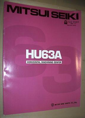 Mitsui Seiki Hmc Hu63a Specification