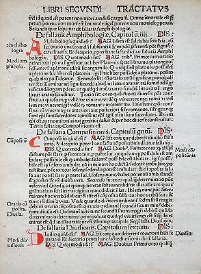 REISCH MARGARITA PHILOSOPHICA BLATT ENZYKLOPÄDIE 1.AUSGABE SCHOTT FREIBURG 1503
