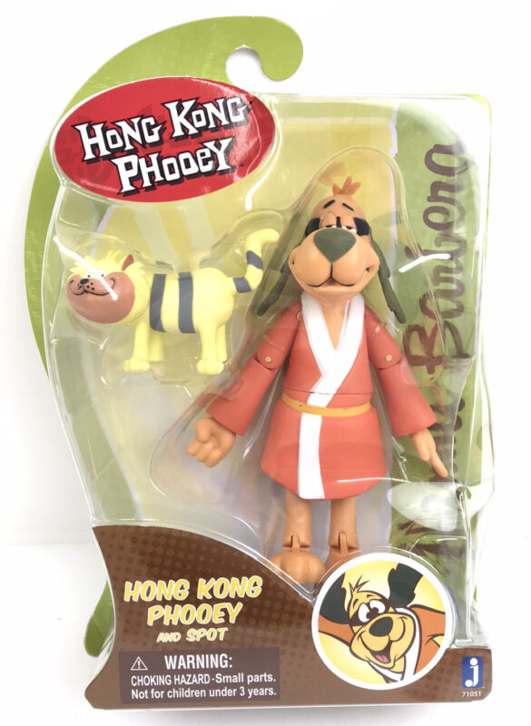 Hanna Barbera Hong Kong Phooey And Spot By Jazwares Inc. 6inch. Figure