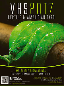 VHS 2017 REPTILE & AMPHIBIAN EXPO Werribee Wyndham Area Preview
