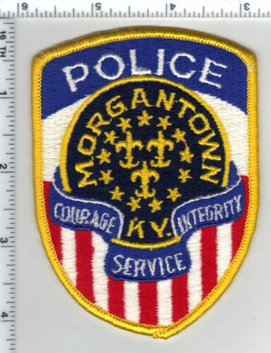 Morgantown Police (Kentucky) Shoulder Patch - new from the 1980