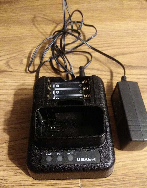 US Alert Watchdog AXXWDC1 Fire EMS Pager Charger w Power Cord
