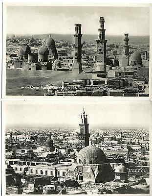 CAIRO - Die MAMELUKEN GRÄBER 1935 - 2 Orig.Fotografien wohl LEHNERT & LANDROCK