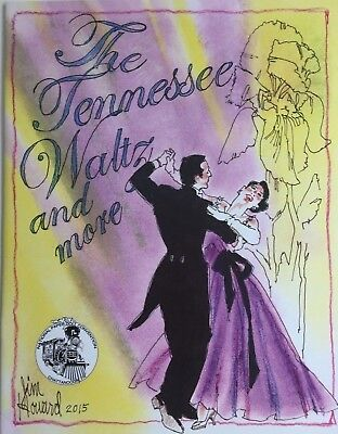 THE TENNESSEE WALTZ PAPER DOLL BOOK BY JIM HOWARD - Ltd. Edition Souvenir!
