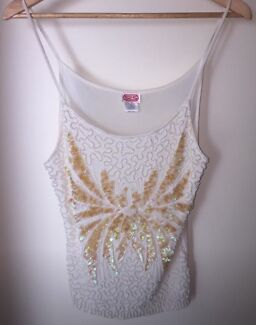 Pearl and Sequin Cami