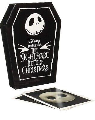 Enesco Walt Disney Archives Nightmare Before Christmas Notecard Set 20 Count 4