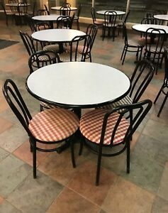 Restaurant Tables & Chairs EUC
