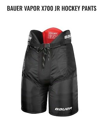 37a82352975 Bauer Vapor X700 pant Jr Black medium new in packaging mint condition