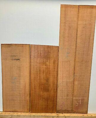 Honduran Mahogany Dreadnought Guitar Back And Side Set AAAA Luthier Tonewood Mahogany Tone Wood