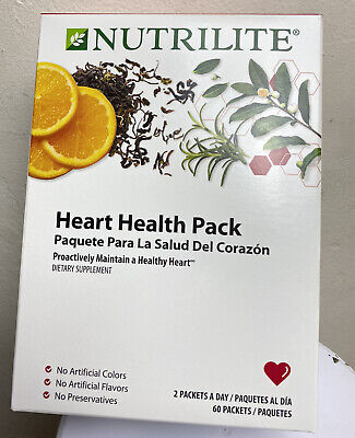 Nutrilite Heart Health Pack - NSF Cert - Proactively Maintain a Healthy -
