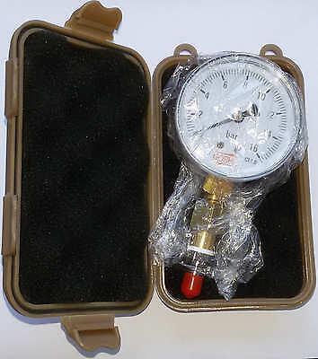 Mittel-druckprüfer Mittel-druckprüfgerät Atemregler-Prüfer/Manometer incl. Box
