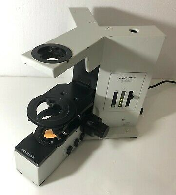 Olympus Bx50 Tf Microscope Base Free Dhl Shipping