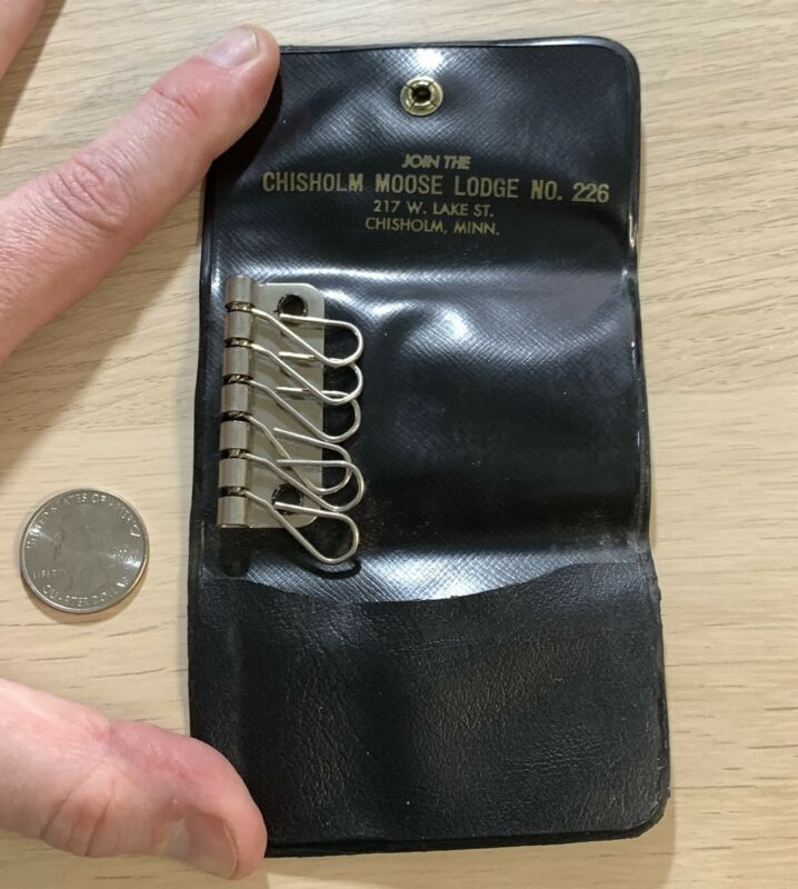 Chisholm Minnesota Moose Lodge #226 Key Holder Protector Keychain #42118