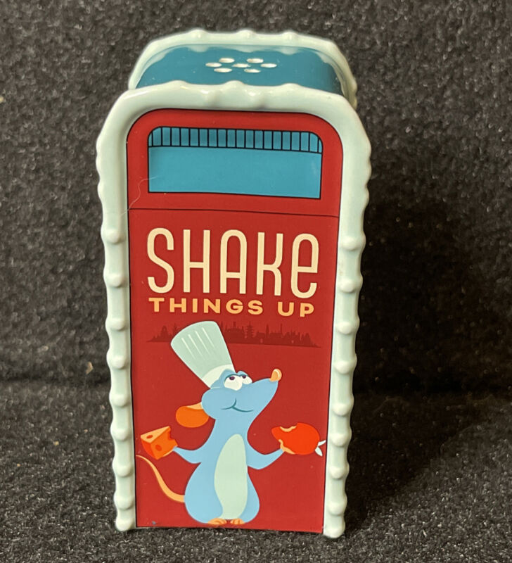Disney Epcot Food And Wine Festival 2021 Remy Shake Up Salt Or Pepper Shaker New