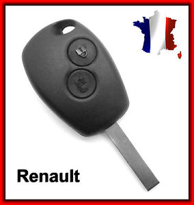 key remote shell 2 button renault megane scenic twingo cl blank ebay. Black Bedroom Furniture Sets. Home Design Ideas