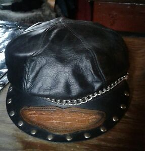Genuine  Harley leather hat