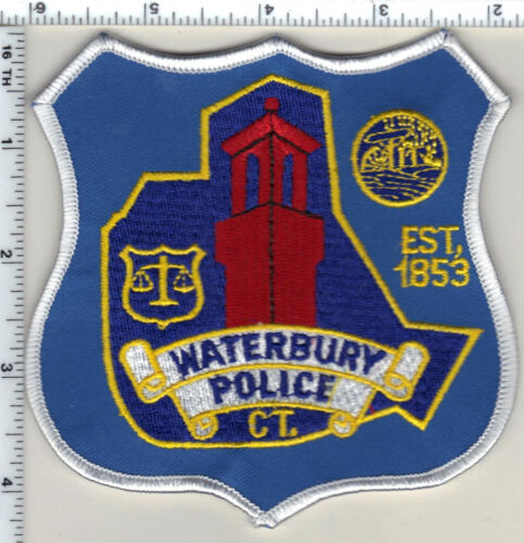 Waterbury Police (Connecticut) Shoulder Patch - new style from 1992