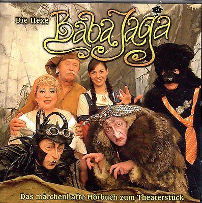 DIE HEXE BABA JAGA - Das märchenhafte Hörbuch zum Theaterstück - CD gebraucht kaufen  Bertsdorf-Hörnitz
