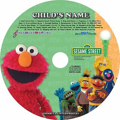 Gombita Enterprises® - ELMO Name Personalized Children CD & MP3