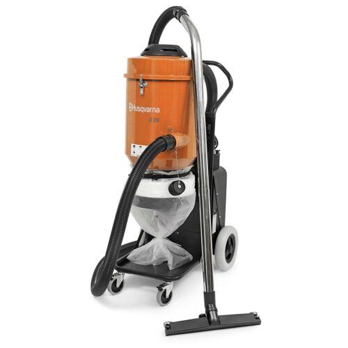 HUSQVARNA S 26 120V Dust Extractor Vacuum,258 cfm Air Flow 1-ph, + FREE SHIPPING
