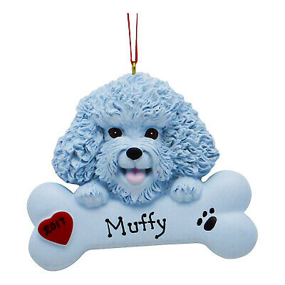 PERSONALIZED Dog Ornament World's Greatest Bichon Frise Puppy Christmas Ornament ()