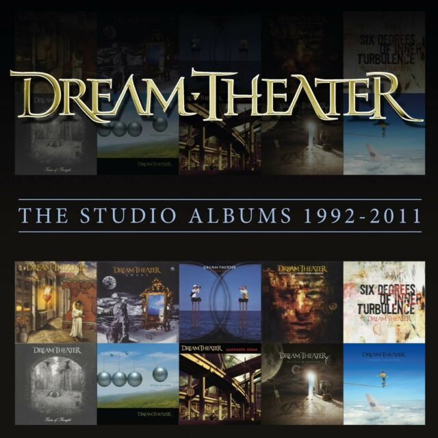 DREAM THEATER - STUDIO ALBUMS 1992-2011,THE 11 CD NEU