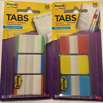2 Packages Of Post It Tabs Nip