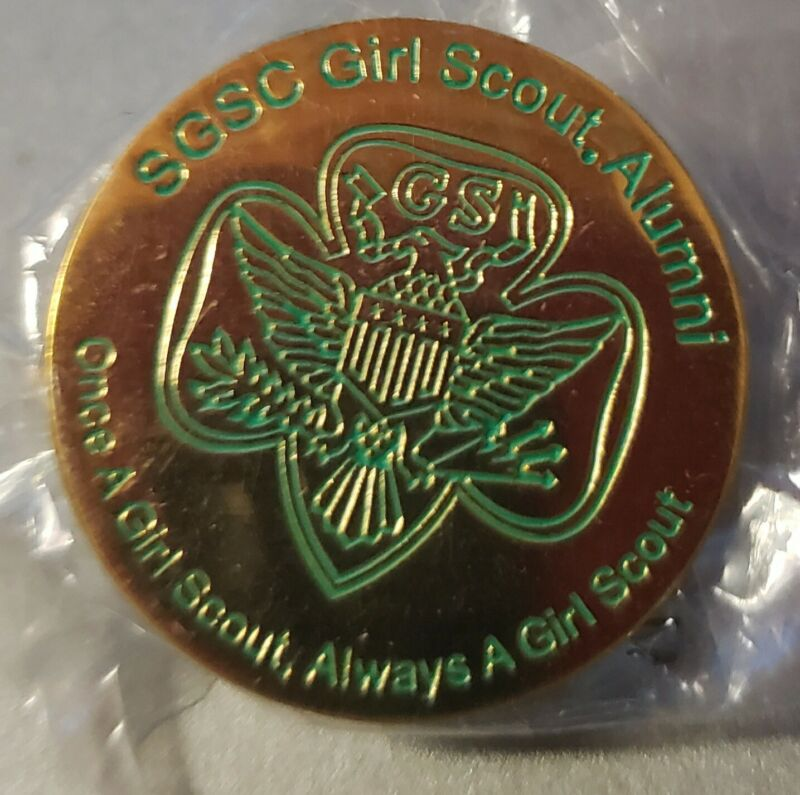 Girl Scout  Pin Alumni SGSC Once a Scout always a scout