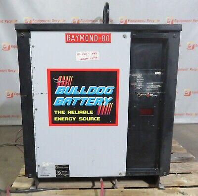 Bulldog 2200 Industrial Battery Charger Forklift 12m600c2d 24 Volt