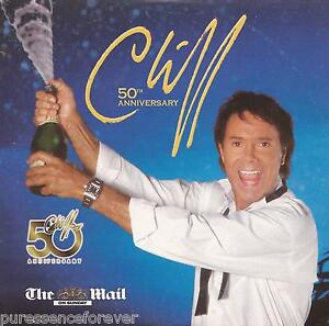 CLIFF-RICHARD-Cliff-50th-Anniversary-UK-12-Tk-CD-Album-Mail-On-Sunday